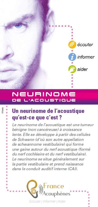 Flyer Neurinome de l'acoustique